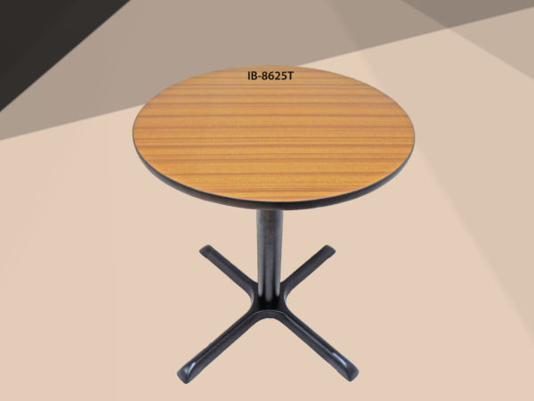 Table with straight stands IB-8625T_Beige